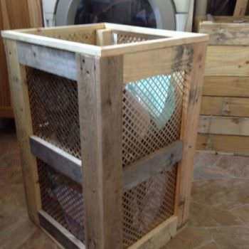 Pallet Laundry Hamper