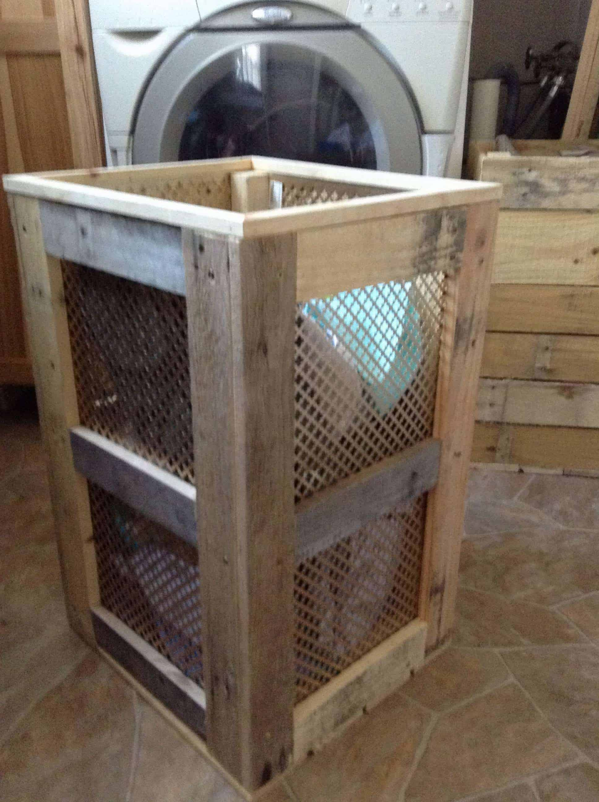 Pallet Laundry Hamper 1001 Pallets