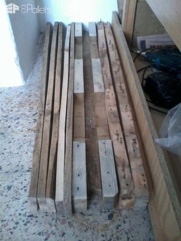 Small Pallet Bench Pallet Benches, Pallet Chairs & Stools