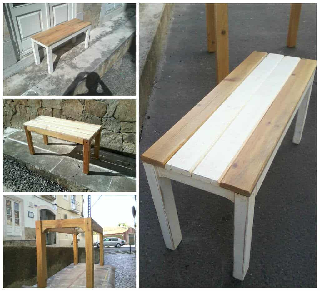 Small Pallet Bench 1001 Pallets