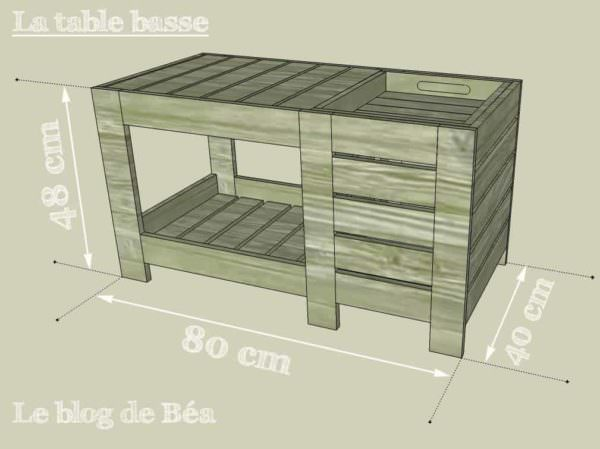 special coffee table with box table basse avec coffre de rangement 1001 pallets. Black Bedroom Furniture Sets. Home Design Ideas