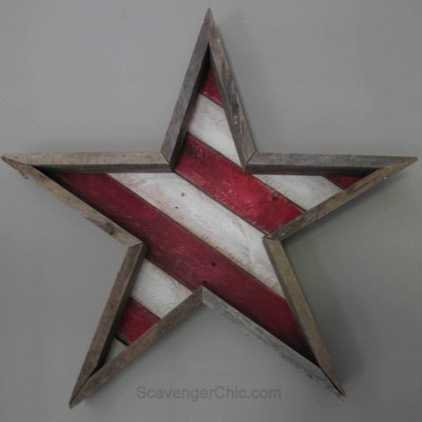 Stars And Stripes Pallet Wall Decor & Pallet Painting