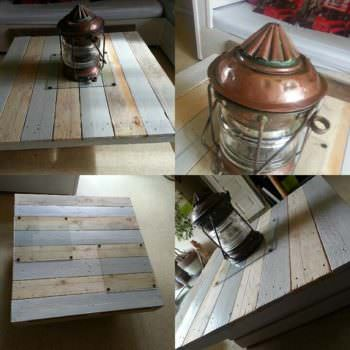 Table Basse Design / Design Pallet Coffee Table