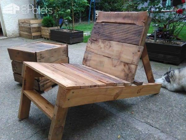 Table Et Bancs De Jardin En Palettes Pallet Garden Table And Bench Pallet Ideas 1001 Pallets