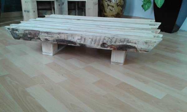 Table basse palette massif pallet coffee table 1001 for Table basse teck massif