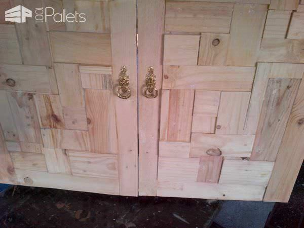 bathroom cabinet door from pallet wood pallets recycled pallet cabinet doors