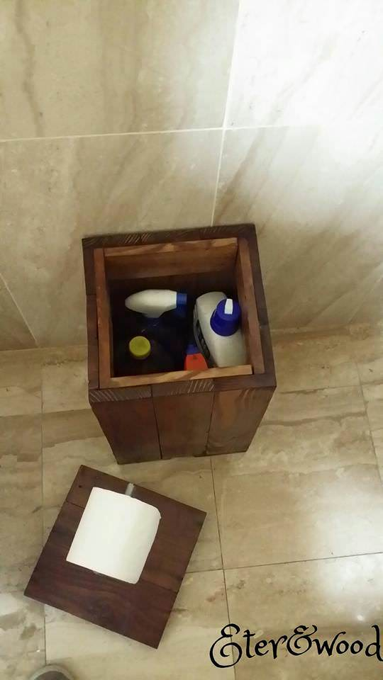 Bathroom Furniture Pallet Boxes & Chests