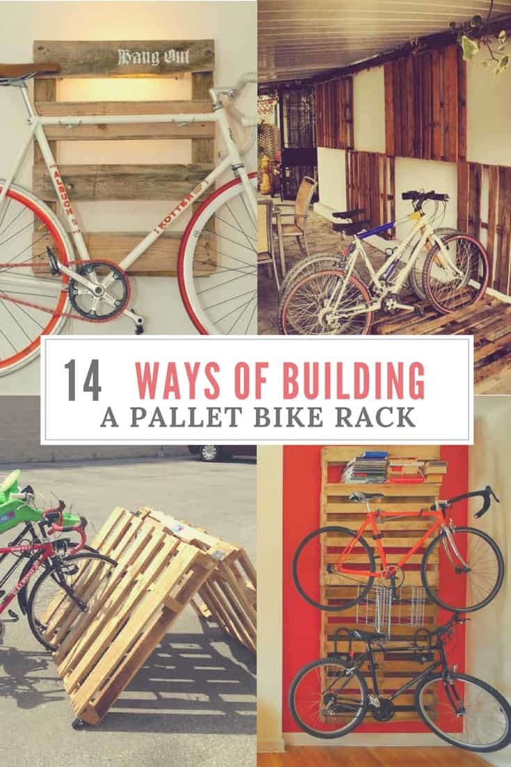 Diy bike racks 14 ways of building your own pallet bike rack 1001 diy bike racks 14 ways of building your own pallet bike rack 1001 pallets solutioingenieria Image collections