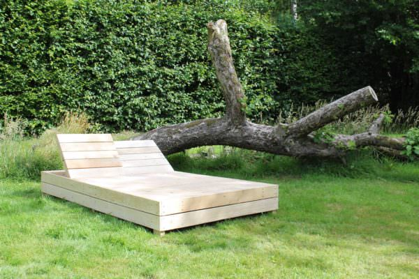 Double Pallet Lounge Lounges & Garden Sets