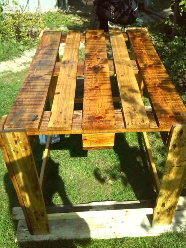Little Pallet Kitchen Table Pallet Desks & Pallet Tables