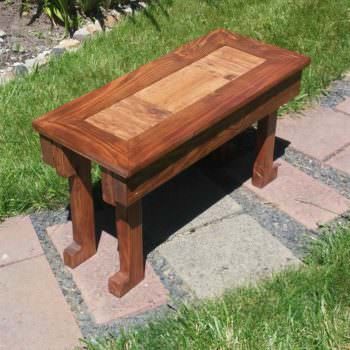 Pallet Living Room End Table