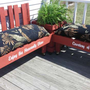 Pallet Outdoor Lounge Corner