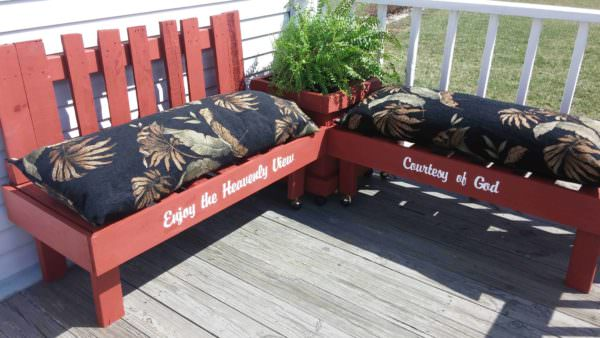 Pallet Outdoor Lounge Corner Pallet Sofas & Couches