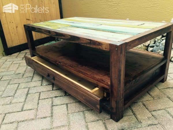 Pallet Top Coffee Table Pallet Coffee Tables