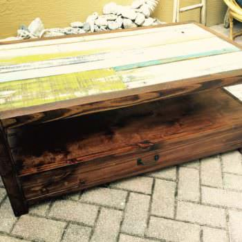 Pallet Top Coffee Table