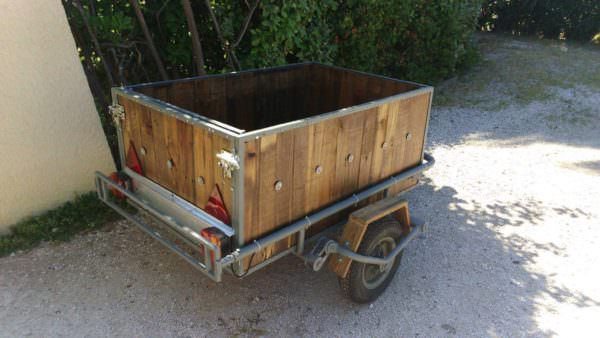 Trailer Makover With Recycled Pallet Wood Other Pallet Projects