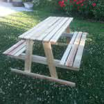 Picnic Table For Kids