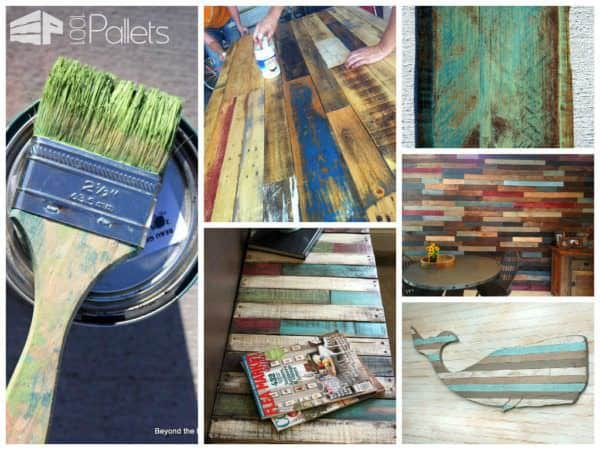 painting old pallets 1