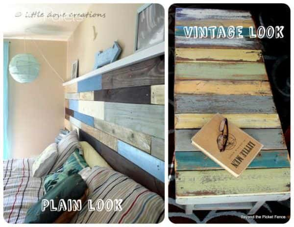 how to spray paint wood pallets 2