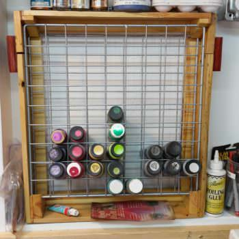 Craft Paint Pallet Rack or Pallet Caddy
