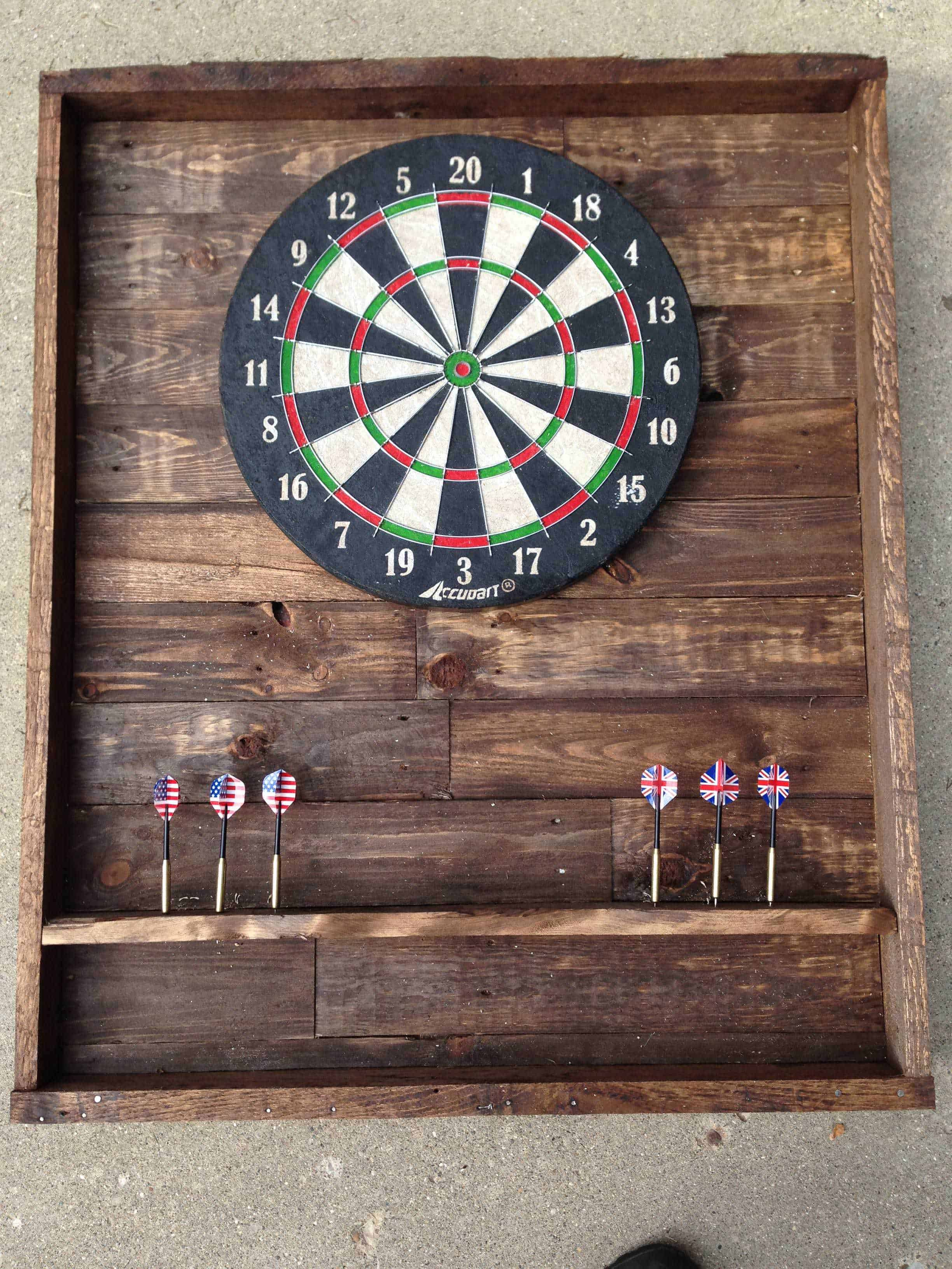 Diy Pallet Dart Board 1001 Pallets