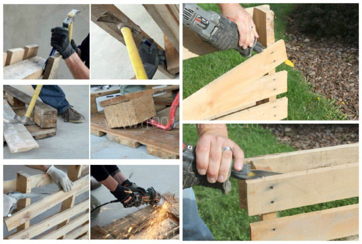How to Dismantle a Wooden Pallet?