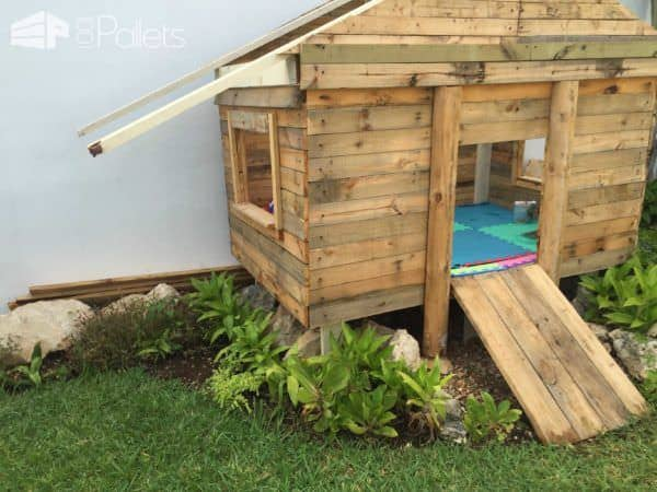 Kids Pallet Playhouse Fun Pallet Crafts for Kids Pallet Sheds, Cabins, Huts & Playhouses