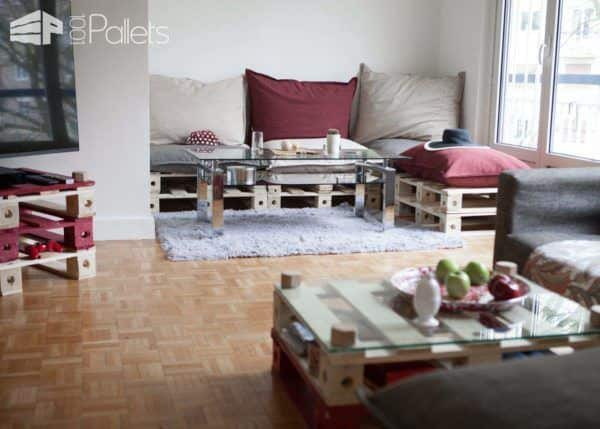 Modular Pallets Furniture By French Start-up Pal-id Pallet Furniture