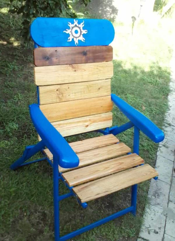 Pallet Lawn Chair Pallet Benches, Pallet Chairs & Stools