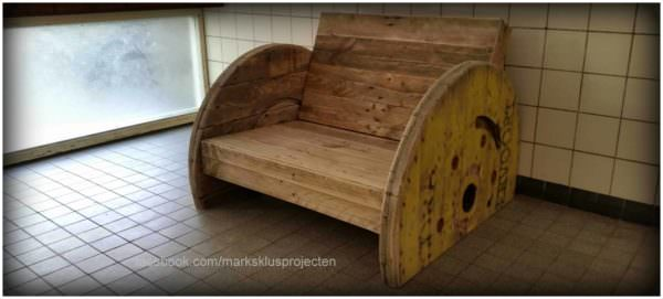 Pallet Love Seat Pallet Benches, Pallet Chairs & Stools