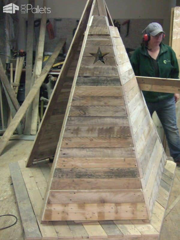Pallet Teepee Fun Pallet Crafts for Kids Pallet Sheds, Pallet Cabins, Pallet Huts & Pallet Playhouses