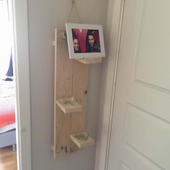 Photo & Candle Holder - 100% Reclaimed Pallet Wood
