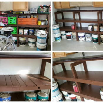 Shelving From Pallets & Other Recycled Materials - All Free!