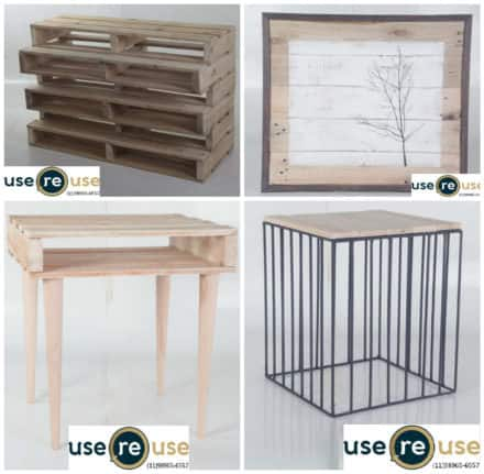 Usereuse: Furniture Out of Recycled Pallets