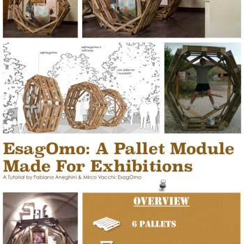 DIY Tutorial: A Pallet Module For Exhibitions (EsagOmo)