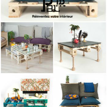 Modular Pallets Furniture By French Start-up Pal-ID