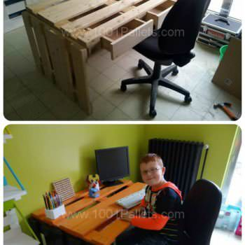 Back To School: Pallet Desk Example