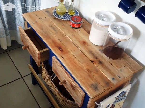 100% Pallet Sideboard Pallet Desks & Pallet Tables