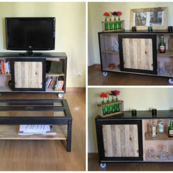 Dining Room Pallet Sideboard
