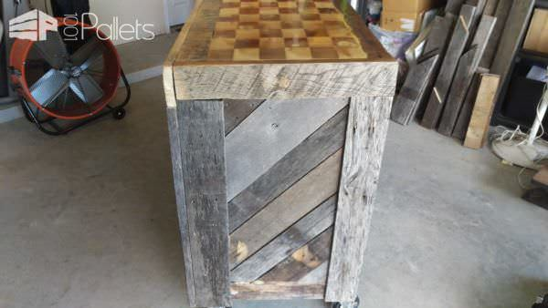 Oak Pallet Bar DIY Pallet Bars