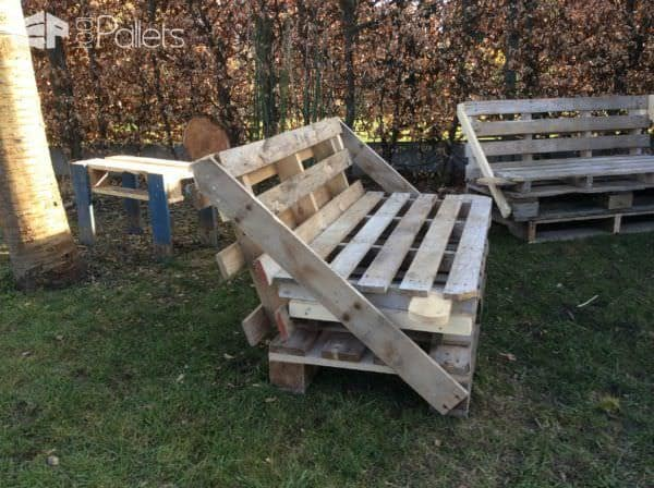 Pallet Bar, Bar Stools, Sofas & Man-table DIY Pallet Bars Pallet Benches, Pallet Chairs & Stools Pallet Sofas