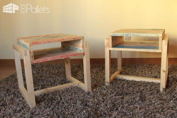 Pallet Night Stands Pallet Desks & Pallet Tables