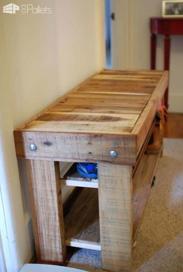 Pallet Shoe Bench 1001 Pallets
