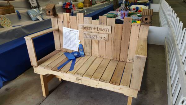 Pallet Wedding Bench Pallet Benches, Pallet Chairs & Stools