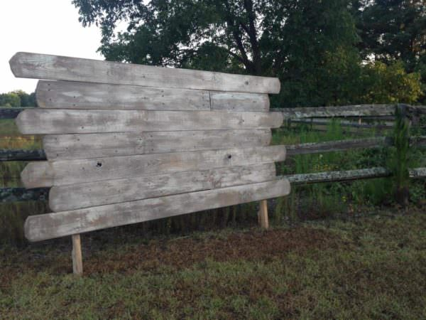Queen Pallet Headboard DIY Pallet Bedroom - Pallet Bed Frames & Pallet Headboards
