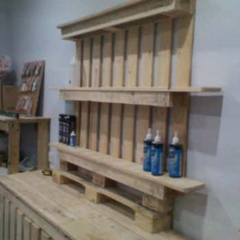 Shop Furniture Made Out Of Discarded Pallets