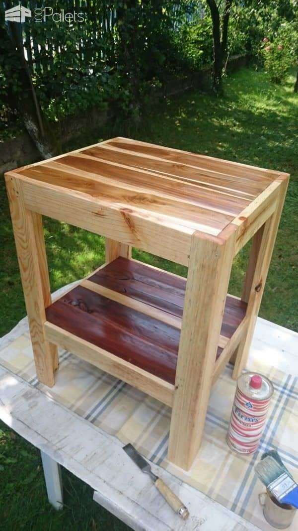 Small Garden Coffee Table 1001 Pallets