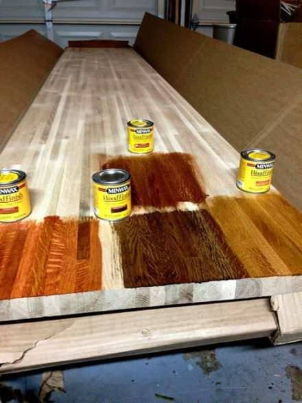 Staining Your Pallet Wood: Tips for Beginners