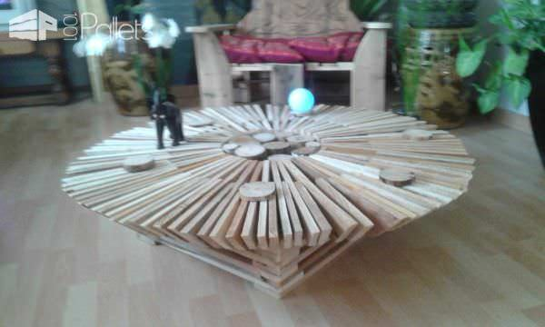 Sunshine Pallet Coffee Table Pallet Coffee Tables