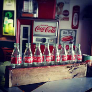 Scrap Pallet Wood Coca-Cola Crate